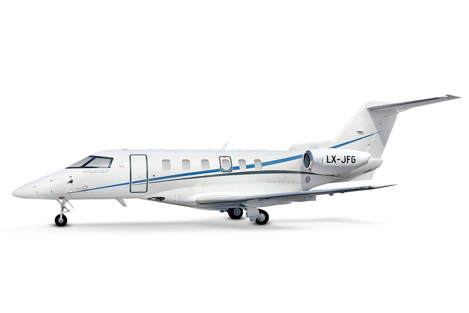 LX-JFG 2018 based in Annecy<br><h3>PC 24</h3>